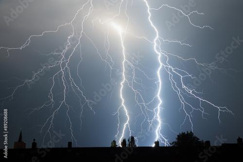 Photographie  Blitz im Himmel