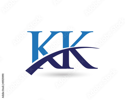 Kk Logo Letter Swoosh Buy This Stock Vector And Explore Similar Vectors At Adobe Stock Adobe Stock