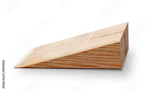 Slika na platnu Wooden wedge