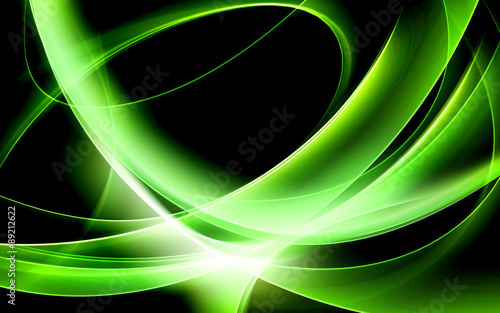 green art wave background