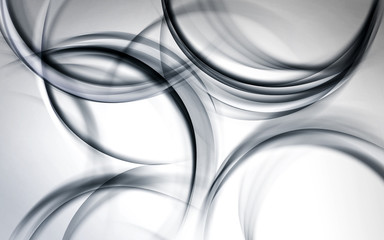 gray chaos modern wave background