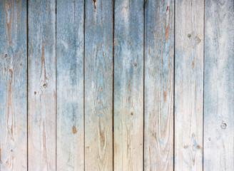 Naklejka Blue Vintage wooden background