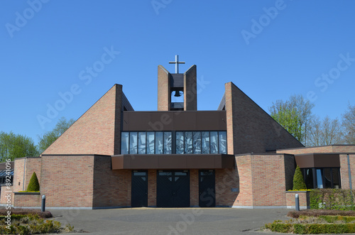 Cadres-photo bureau Lieu de culte modern church building