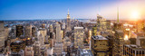 Fototapeta New York - Manhattan New York Skyline Panorama
