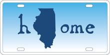 Illinois State License Plate V...