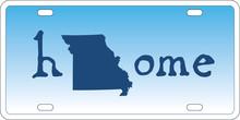 Missouri State License Plate V...