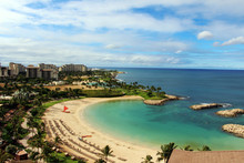 View Of Ko Olina Beach And The...