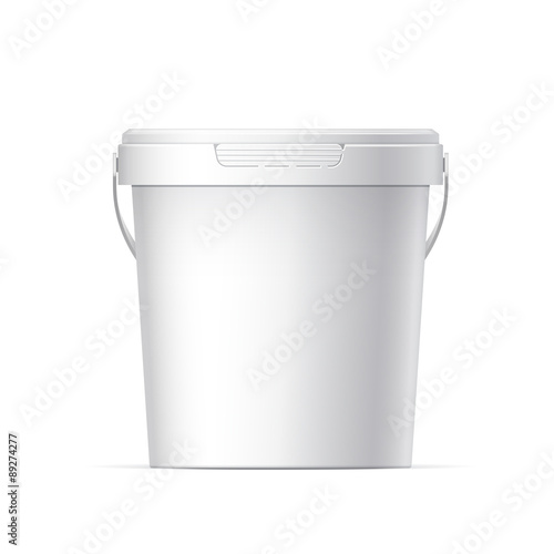 Plastic bucket Wall mural