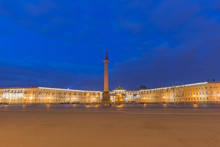 Palace Square At St.Petersburg, Russia