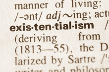 Dictionary Definition Of Word Existentialism
