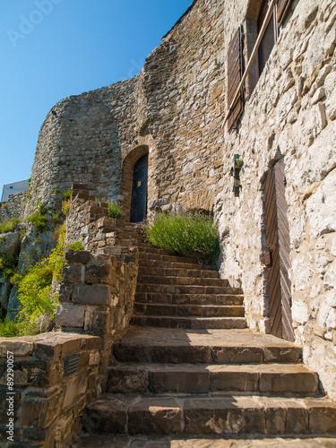 Stare schody zamku