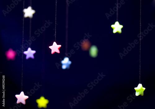 Fotografía  comic starry sky
