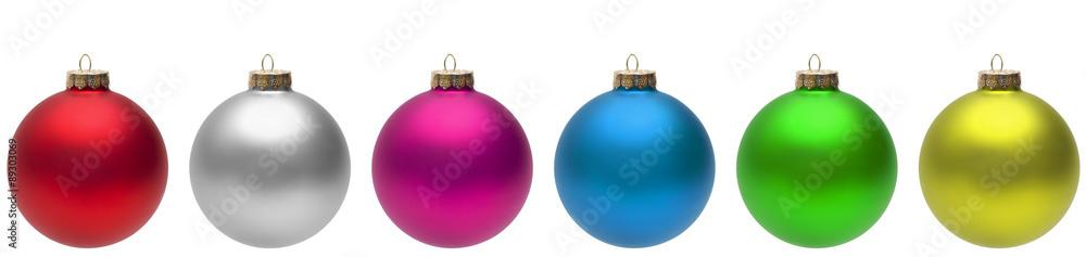 Fototapety, obrazy: Christmas Balls