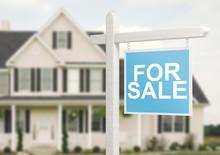 Casa In Vendita Con Cartello For Sale