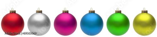 Fotografie, Obraz  Christmas Balls