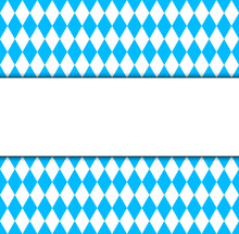 Seamless Wallpaper. Bavarian Oktoberfest Flag Symbol And Banner