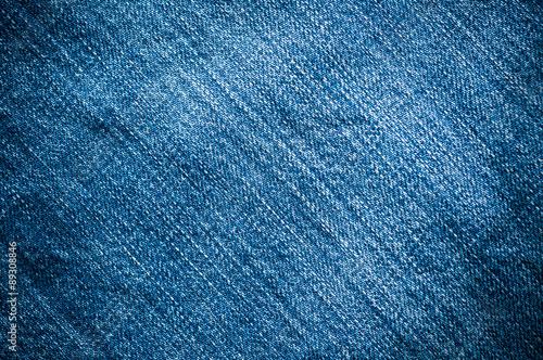 Blue denim jeans Fototapet