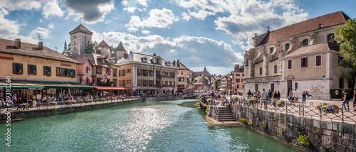 Photo Vieille ville d'Annecy et canal du Thiou