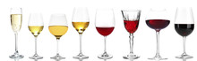 Wineglasses With Different Win...
