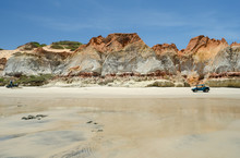 Praia De Morro Branco, Ceará,...