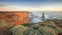 Great Ocean Road Is Home To The World Class Surf At Bells Beach And The Craggy Limestone Spires Of The Twelve Apostles