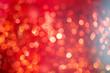 canvas print picture - weihnachten rot bokeh hintergrund
