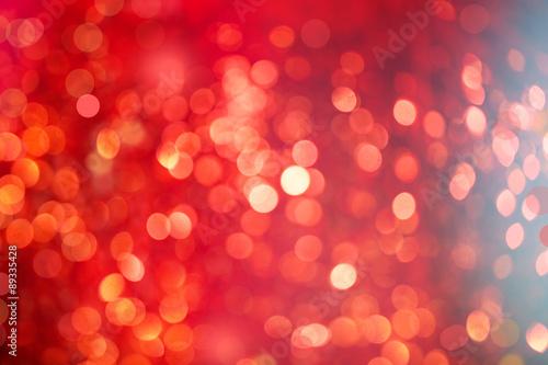 Fotografie, Tablou  weihnachten rot bokeh hintergrund