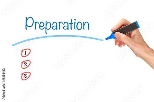 Fotografie, Obraz  Preparation Concept.