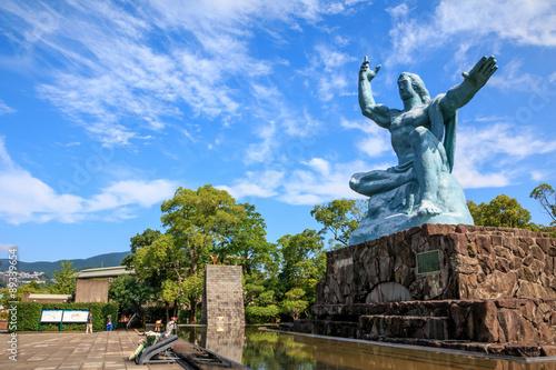 Photo  平和祈念像@長崎平和公園