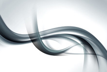 Gray Wave Background Abstract Design