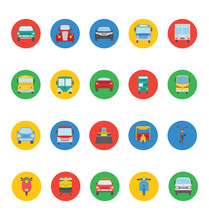 Transports Vector Icons 3