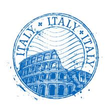 Italy Vector Logo Design Templ...