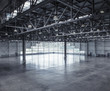 Interior of an empty warehouse