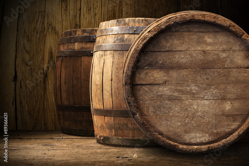 Vászonkép background of barrel