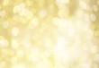 canvas print picture - festlicher goldender hintergrund