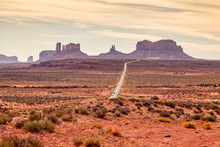 Monument Valley Scenic Landscape