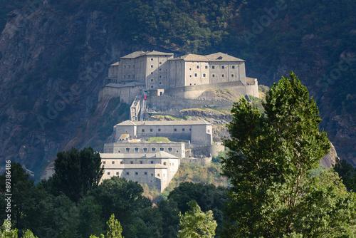 Fotografie, Obraz  Forte di Bard - Valle d'Aosta