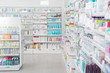 Leinwanddruck Bild - Pharmacy Interior