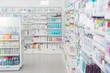 canvas print picture - Pharmacy Interior