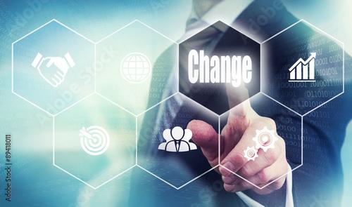 Fotografie, Obraz  Change Concept