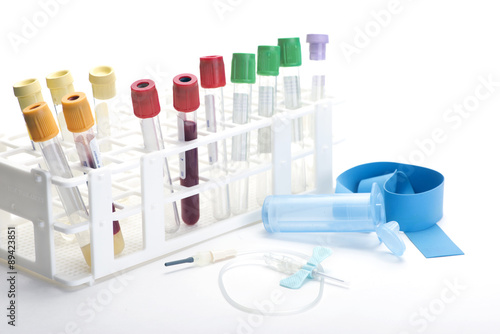 Fotografie, Obraz  Blood Collection Tubes