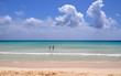 Amazing Corralejo beach on Fuerteventura