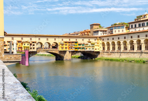 Ponte Vecchio. Florence. Wallpaper Mural