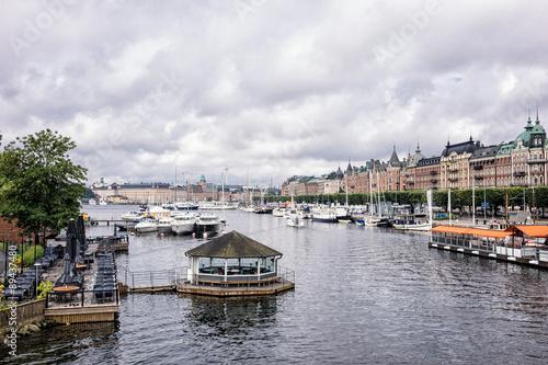 Spoed Foto op Canvas Zanzibar Blick auf Stockholm