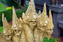 Five Heads King Of Nagas