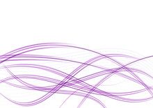 Violet Purple Abstract Elegant Swoosh Wave Forming With Blank Sp