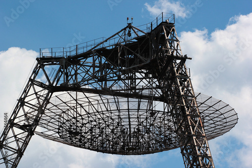 Valokuva  Radiotelescope for studying of ionosphere, Ukraine