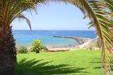 Fototapeta Fototapety z morzem do Twojej sypialni - Piękna plaża Fanabe w Costa Adeje na Teneryfie