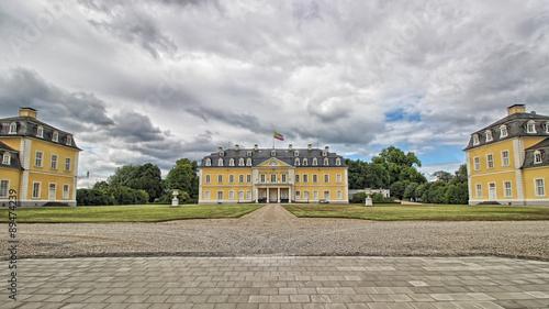 Foto auf Leinwand Schloss Schloss Neuwied