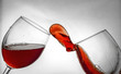 Wine glass fluid motion